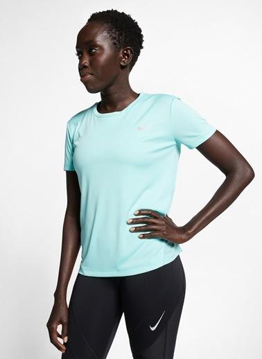 Nike Nike Koşu  T-Shirt Yeşil